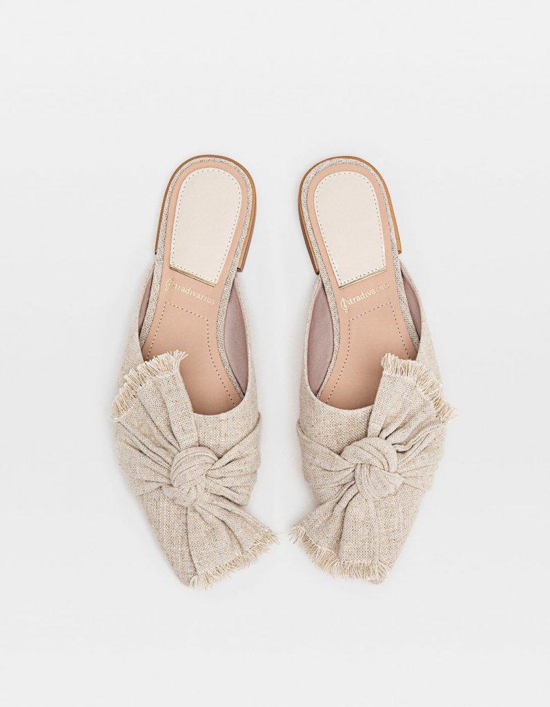 raffia cipő - stradivarius