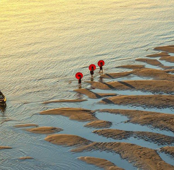 Amikor a szárazföld és a víz találkozik MyanmarPhyo