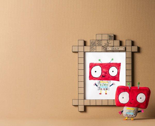 A tudálékos piros robot, Ikea