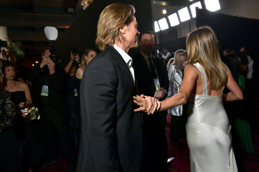 Jennifer Aniston és Brad Pitt