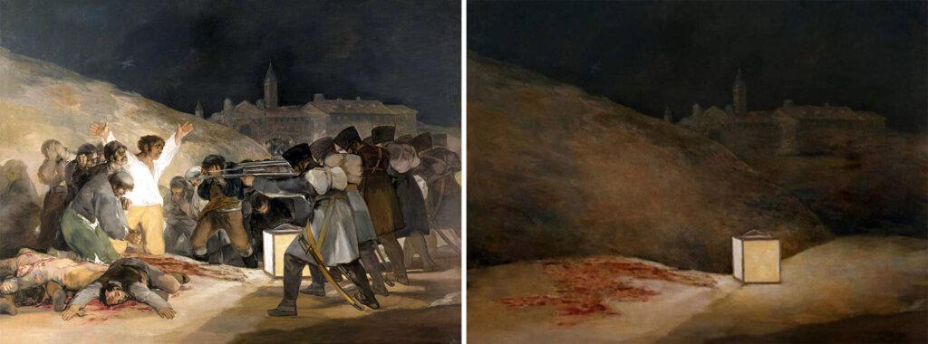 madrid védőinek kivégzése